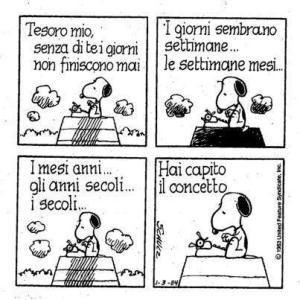 01 - Snoopy - il senso del tempo