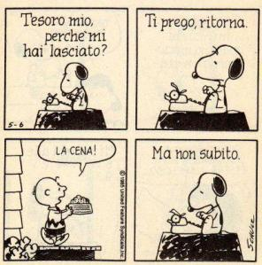 24 - Snoopy - amore ritorna