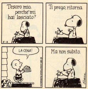 24 - Snoopy - amore ritorna