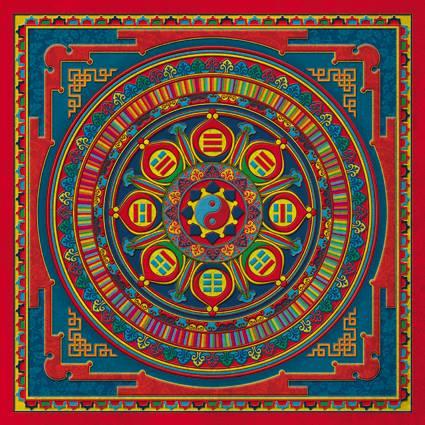 Gupajuhe - I Ching Mandala
