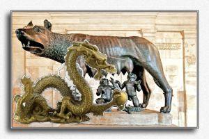 lupa e dragone